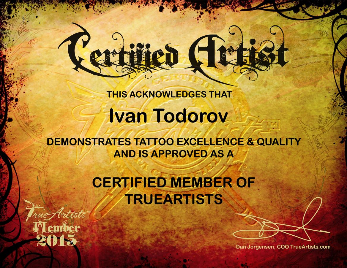 certified member of trueartist