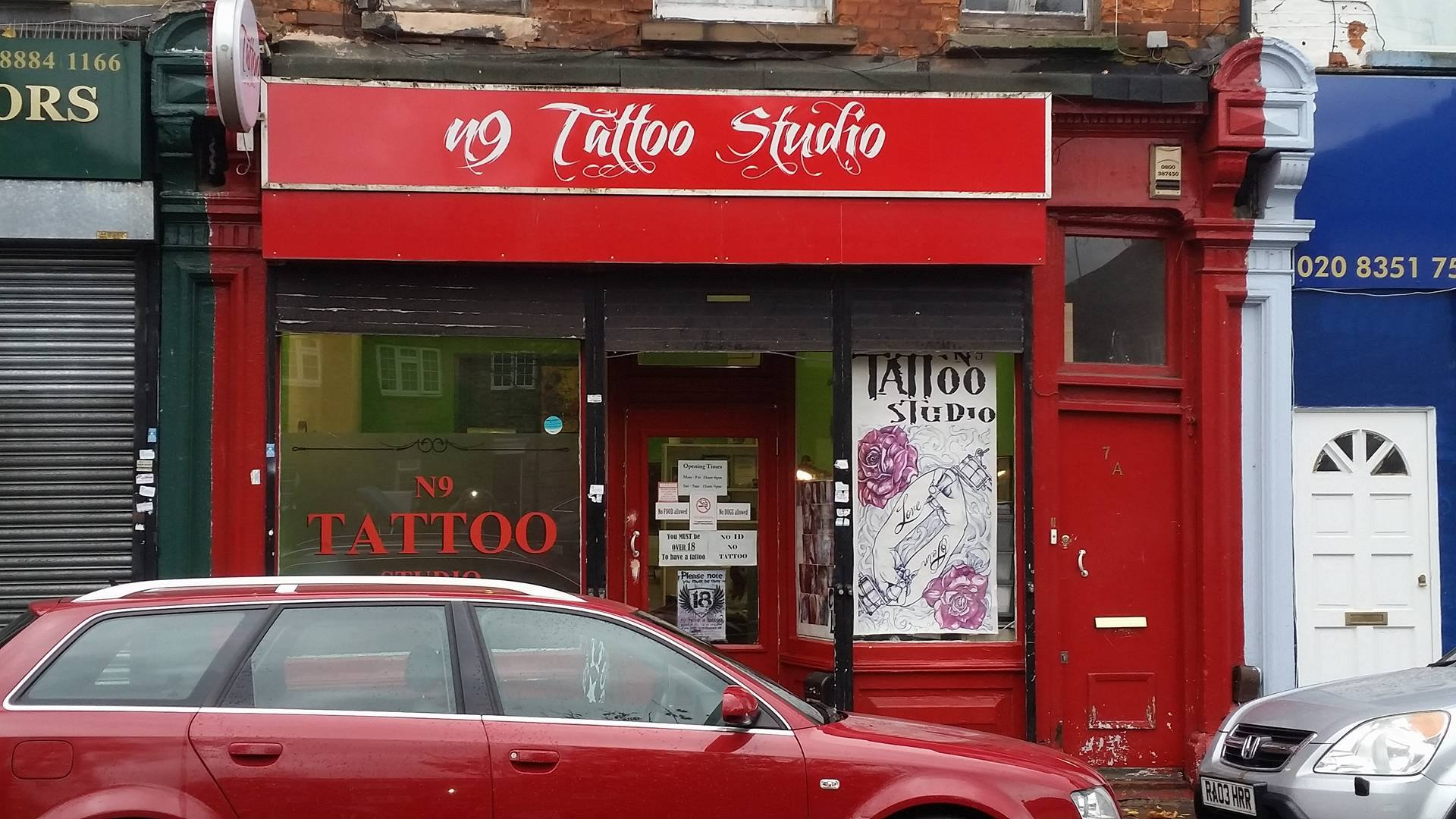 North london tattoo wood green tattoo shop for Tattoo shops in london
